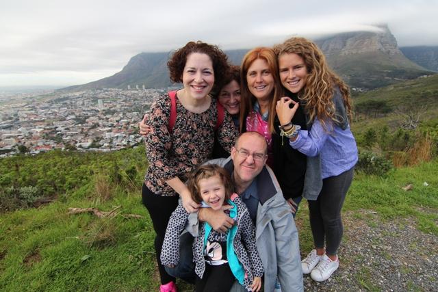 Con esta compañía y estas vistas ¿quien no se enamora de Ciudad del Cabo?
