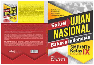 Solusi Ujian Nasional bahasa Indonesia SMP/MTs edisi 2018/2019