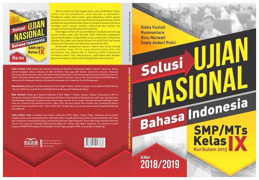 Solusi UN bahasa Indonesia SMP/MTs edisi 2018/2019