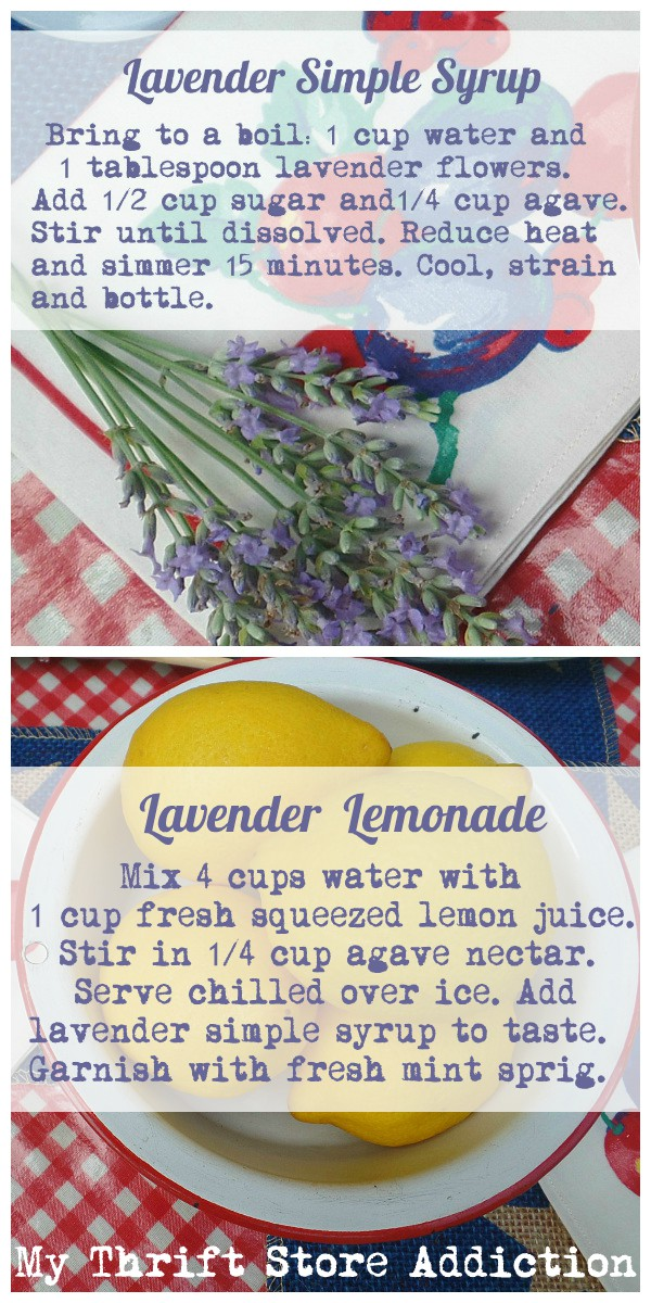 Patriotic Porches Tour plus my Lavender Lemonade recipe