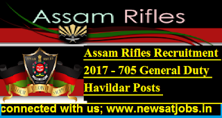 Assam-Rifles-Recruitment-2017- 705-General-Duty-Havildar