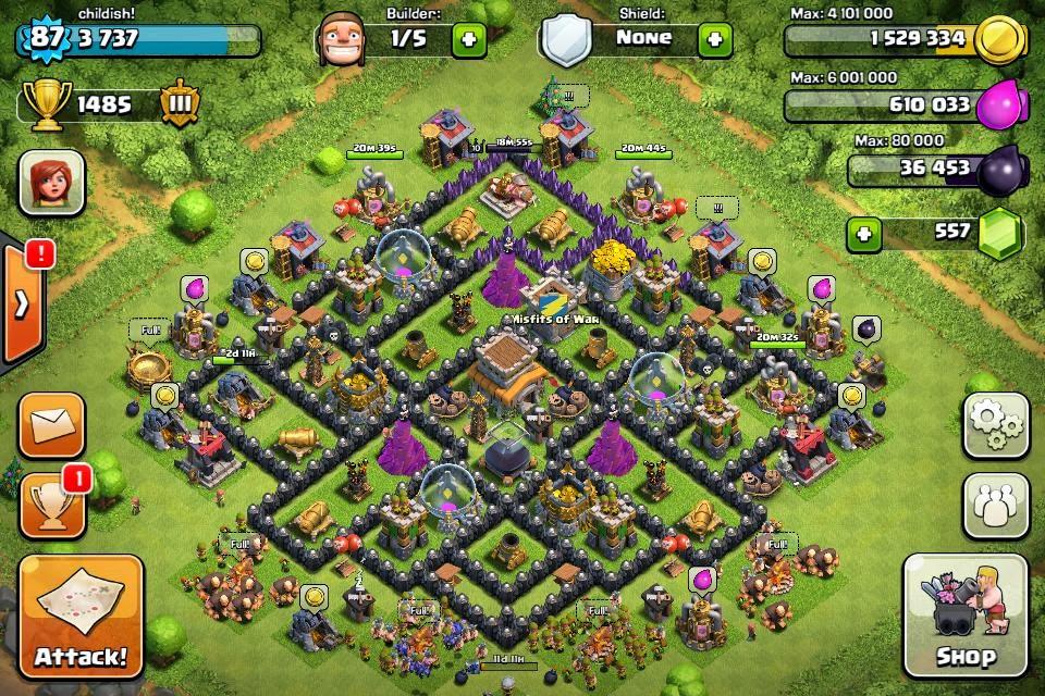Base Coc Th 9 Labirin 2