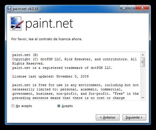 Paint.NET v4.0.18 Editor Fotográfico www.bajaqui.org