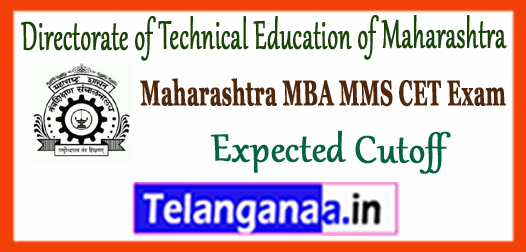 Directorate of Technical Education of Maharashtra MBA MMS CET 2018 Expected Cutoff