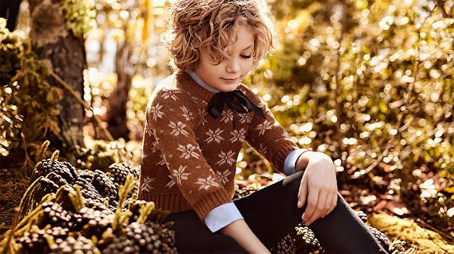 Sweaters tejidos invierno 2017 moda infantil ropa de niños.
