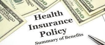 Health Insurance Policy Screenshot