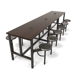 Collaborative Office Furniture - Powered Table - Standing Height