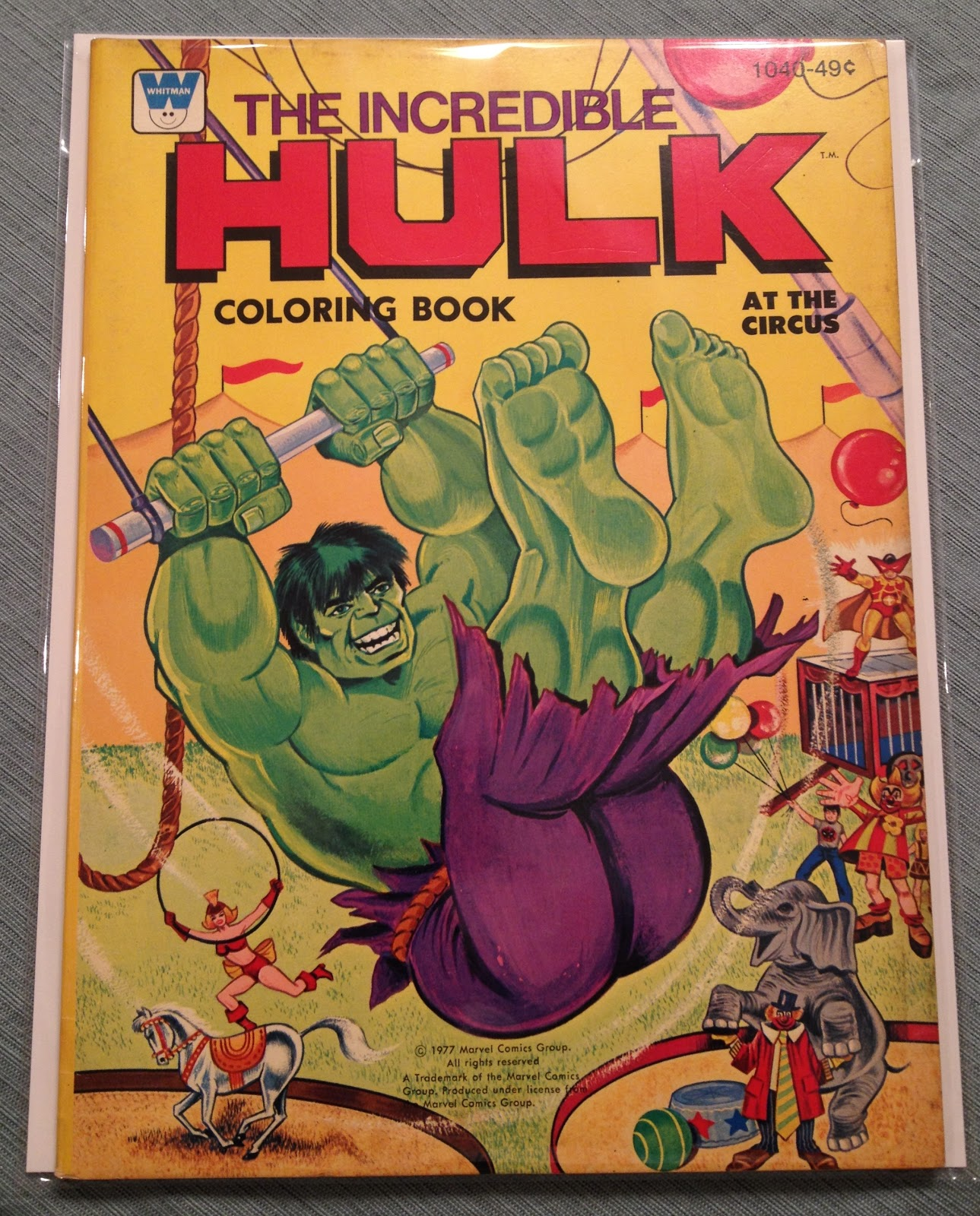 hulk 1978 coloring pages - photo#9
