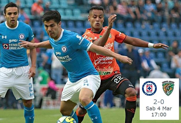 Resumen alineacion Cruz Azul 2-0 Jaguares jornada 9 clausura 2017