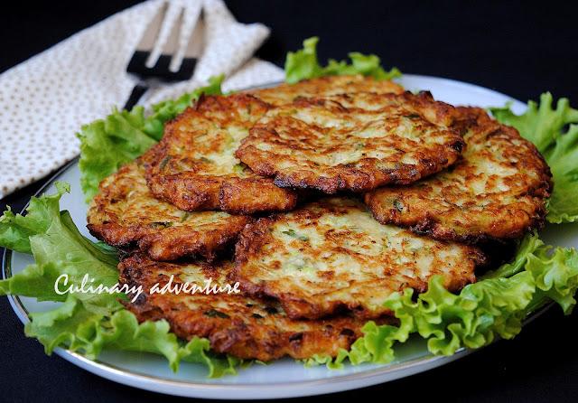 Пърженки с тиквички / Zucchini Fritters