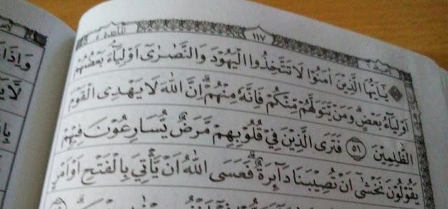 Surat Al-Maidah Ayat 51 Memang Melarang Muslim Pilih Pemimpin Non Muslim, Masalah Buat Lu?