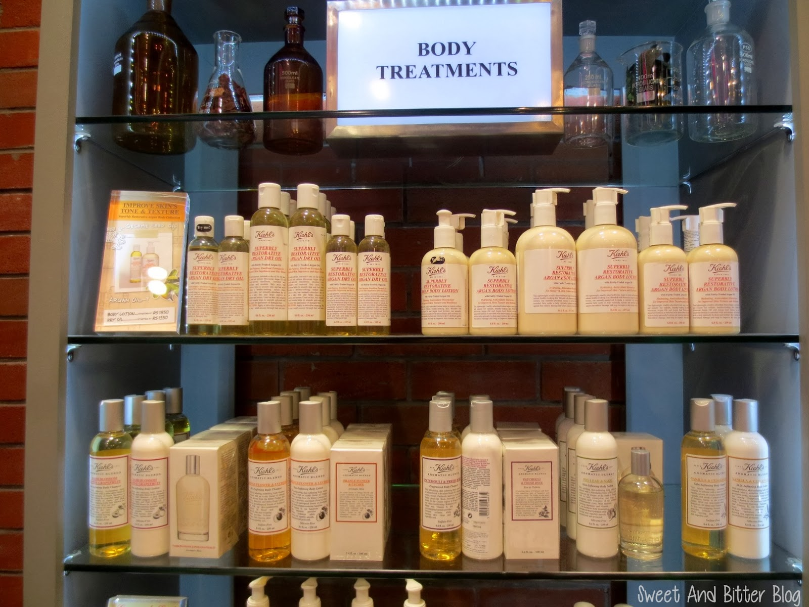 Kiehl's Body Treatments
