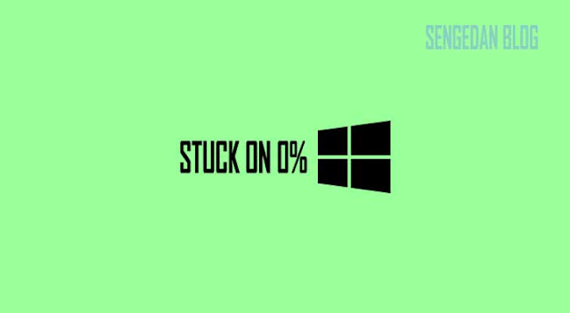 Mengatasi Windows 10 Update Mandek 0%