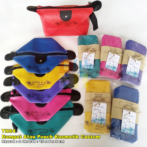 Dompet Atau Pouch Kosmetik Custom