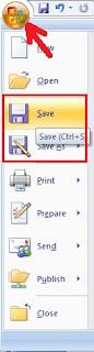 Cara Menyimpan Dokumen Microsoft Word Dan Excel