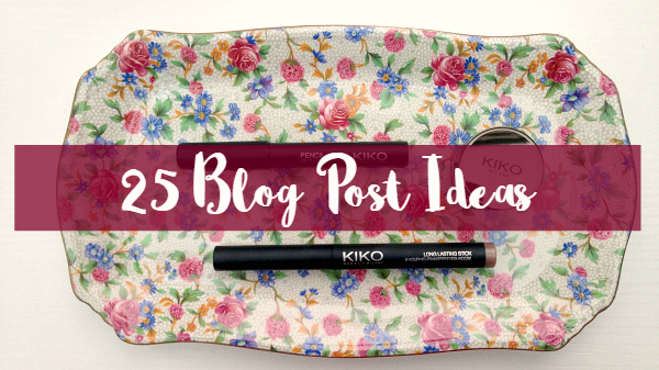 25 Blog Post Ideas