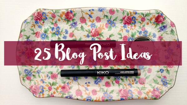 25 Blog Post Ideas