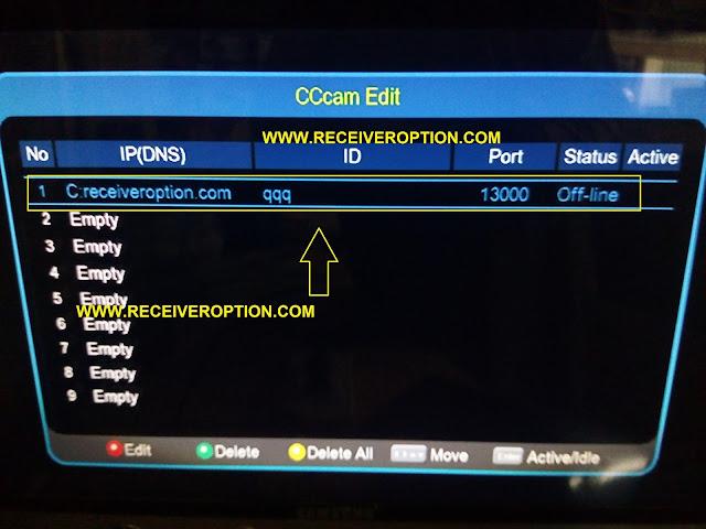 ECHOLINK 9090 HD RECEIVER CCCAM OPTION