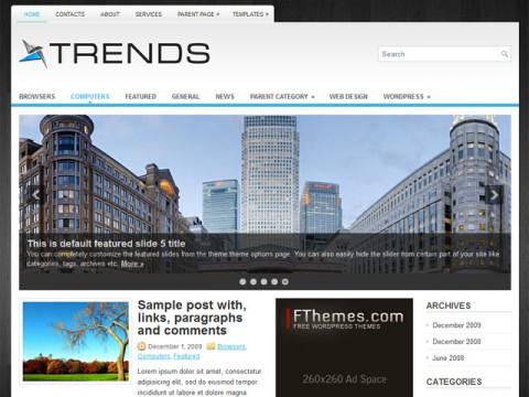 Free Trends - Impressive WordPress Theme
