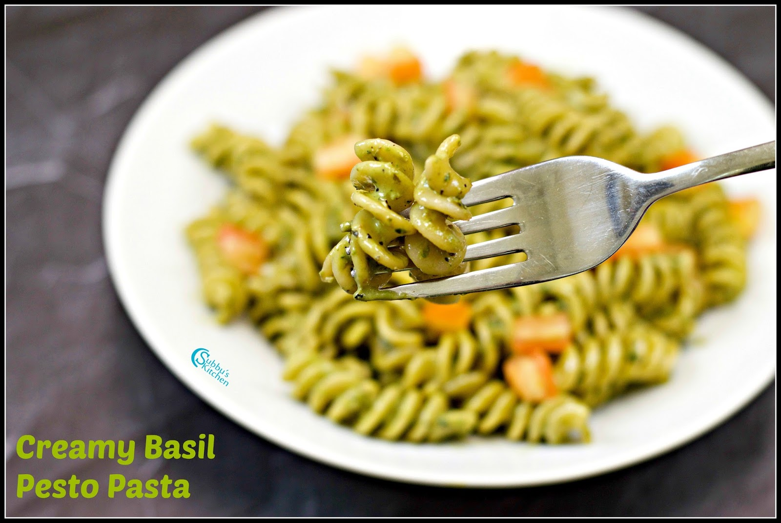 Creamy Basil Pesto Pasta Recipe | Pasta with Basil Pesto