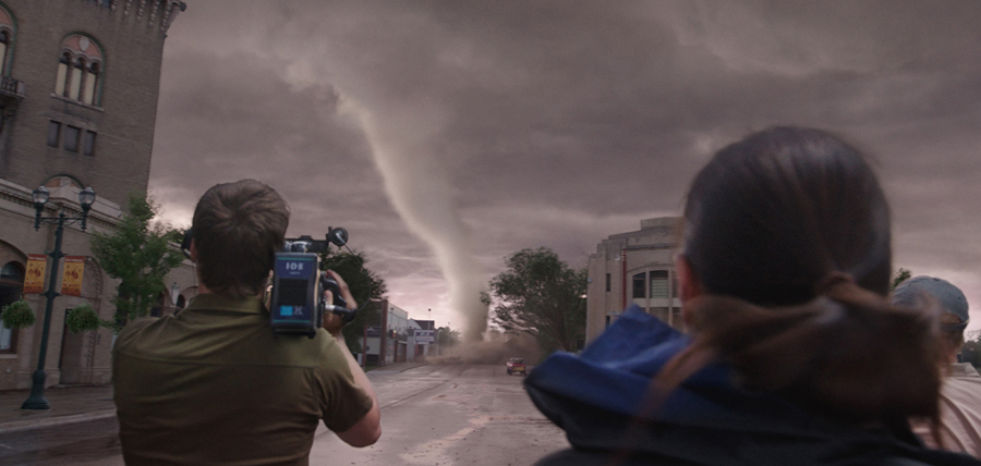 Tornada din filmul Into The Storm
