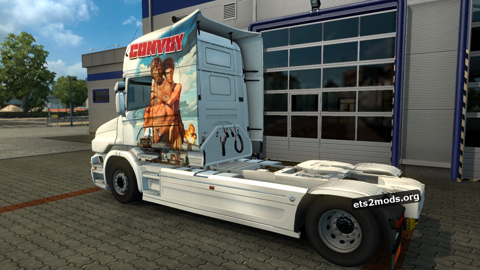 Convoy Skin for Scania T