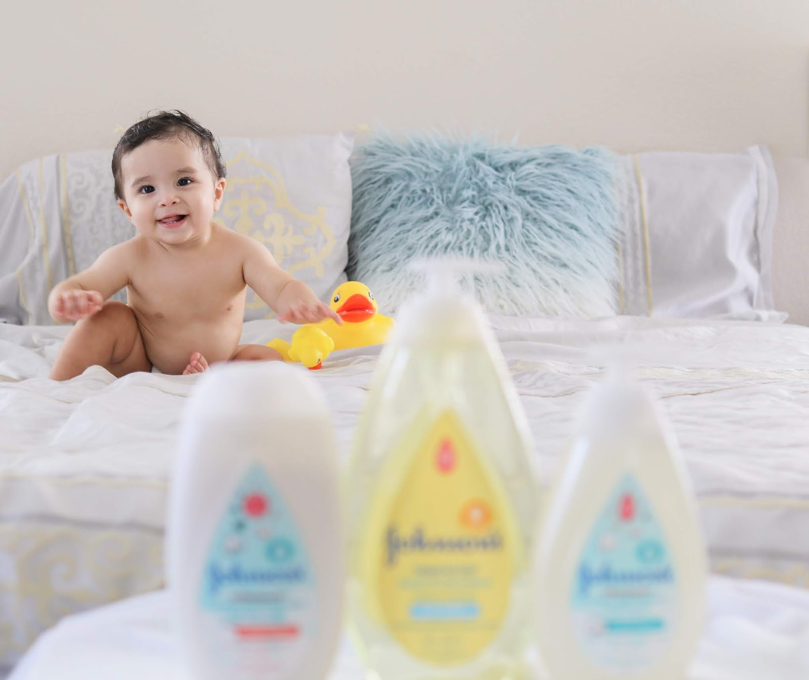 JOHNSON'S® Baby blogger, JOHNSON'S® Baby latina blogger