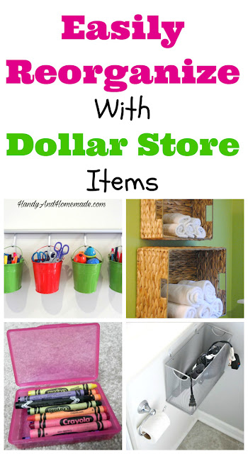 Easily Reorganize Your Life With Dollar Store Items, Organizing