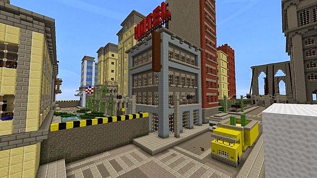 The Last Of Us Map Minecraft Mapa 162 Y 164 Salserocraft Mods - Last-of-us-map-minecraft