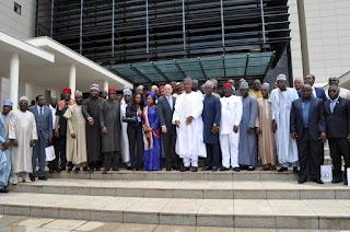 FIFA president and Secretary General visits Nigeria