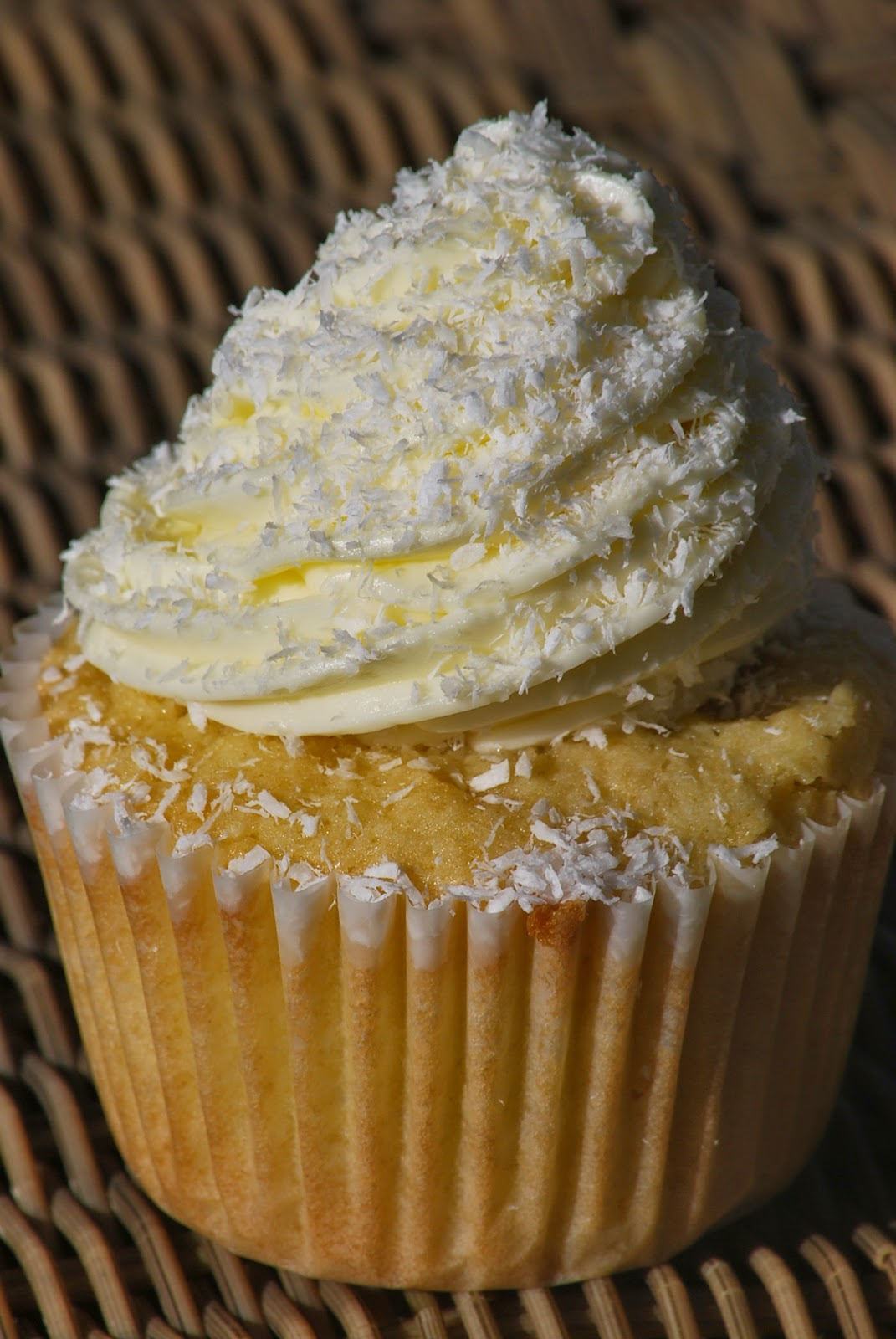 My Story In Recipes Coconut Cupcakes