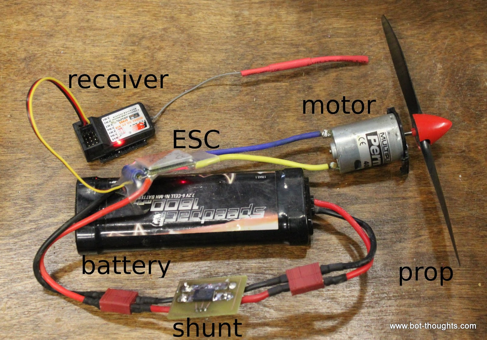 Bot Thoughts: Measuring Motor Current