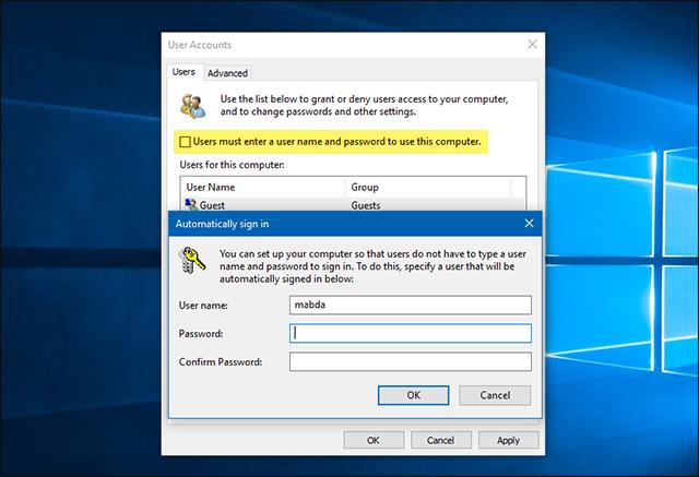 دعني أخبرك فى هذا الموضوع عن طريقة تعطيل كتابة الباسورد عند تشغيل ويندوز 10 والامر لن يحتاج إلى أدوات خارجية.
