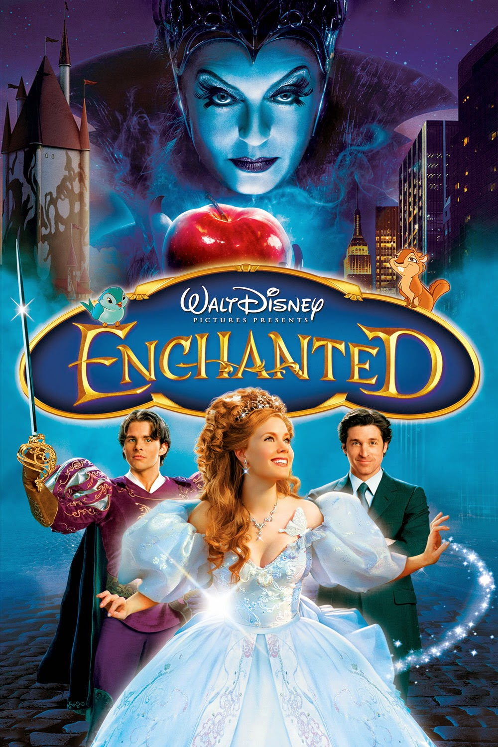 Watch Enchanted (2007) Online For Free Full Movie English Stream