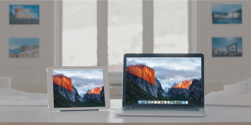 ipad as second monitor for mac