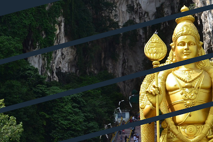 drone How to get from Kuala Lumpur to Batu Caves - Tips for Traveling With Kids