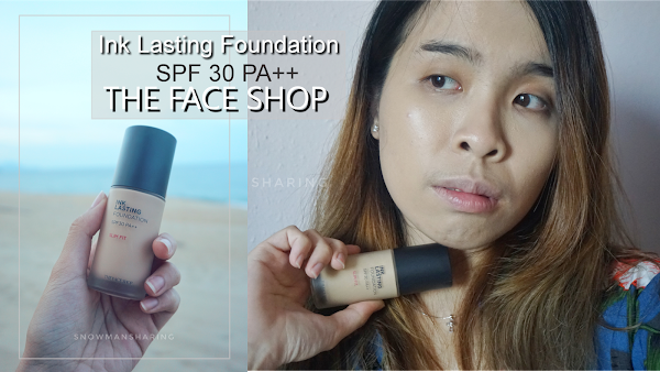THE FACE SHOP InkLasting Foundation Slim Fit SPF 30PA++
