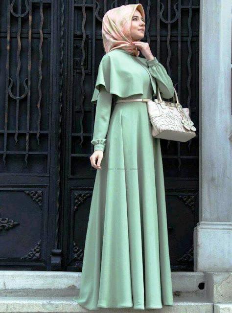 Inspirasi Gaun Muslimah Cantik dan Trendy 2001615