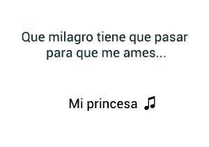 David Bisbal Mi Princesa significado de la canción.