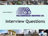 Walchandnagar Industries Interview Questions