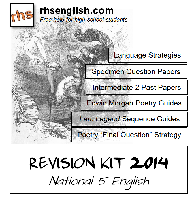 rhsenglish.com: National 5: 2014 Revision Kit