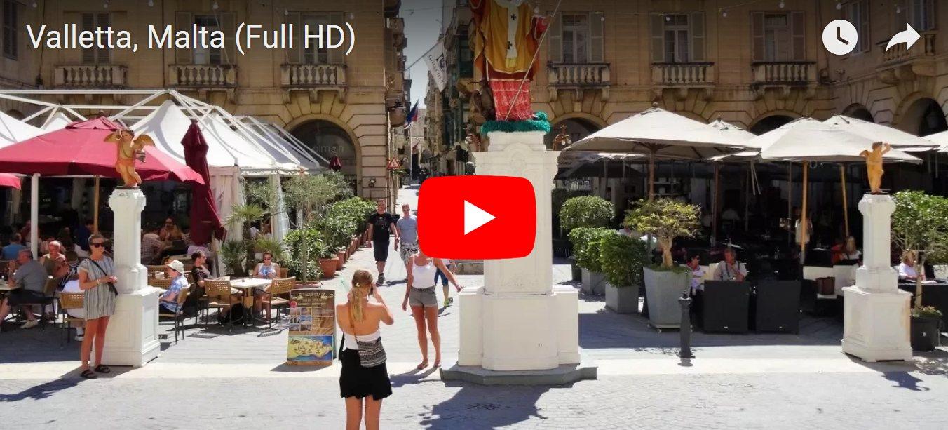 Video saulėtoje Maltoje