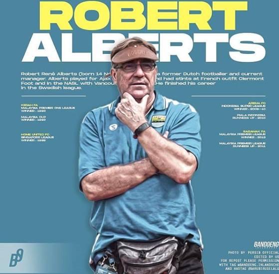 Pelatih Baru Persib Robert Rene Albert