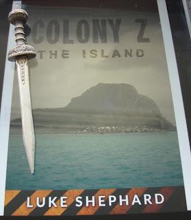 Portada del libro The Island, de Luke Shephard