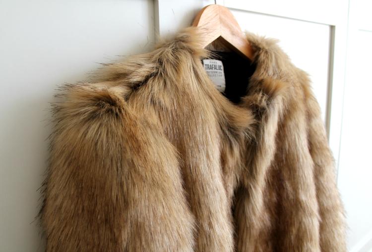 abrigo de pelo zara