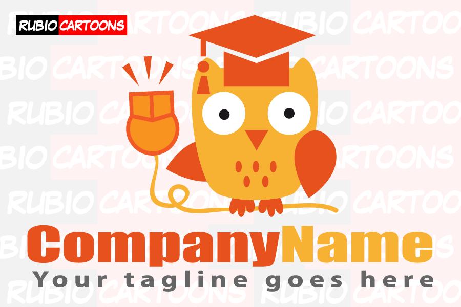 LOGOSTORE: OWL LOGO TEACHING AT INTERNET