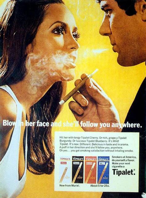 Ilustración retro de cigarros