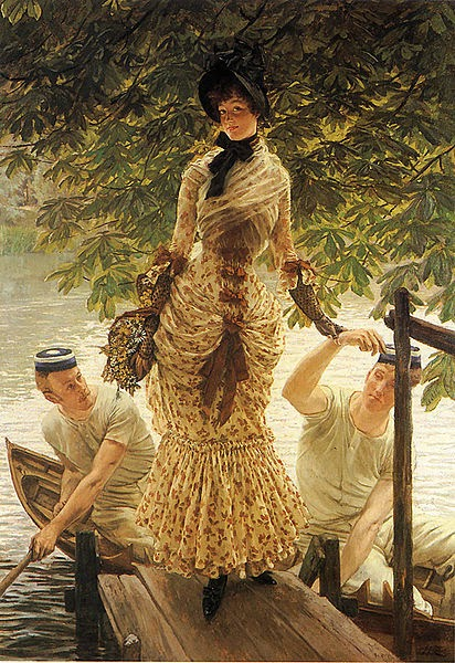 No Tamisa - As principais pinturas de James Tissot ~ Francês