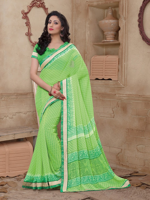 https://www.giadesigner.in/product/modern-green-georgette-saree-with-green-georgette-blouse/