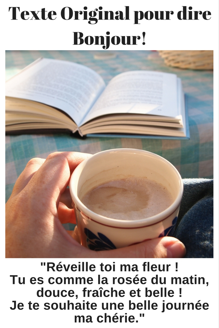 30 Sms à Envoyer Pour Dire Bonjour 2019 Sms Damour Et